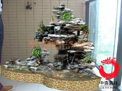 1阳台假山设计图 - 假山流水景观 - 产品中心 - 假山